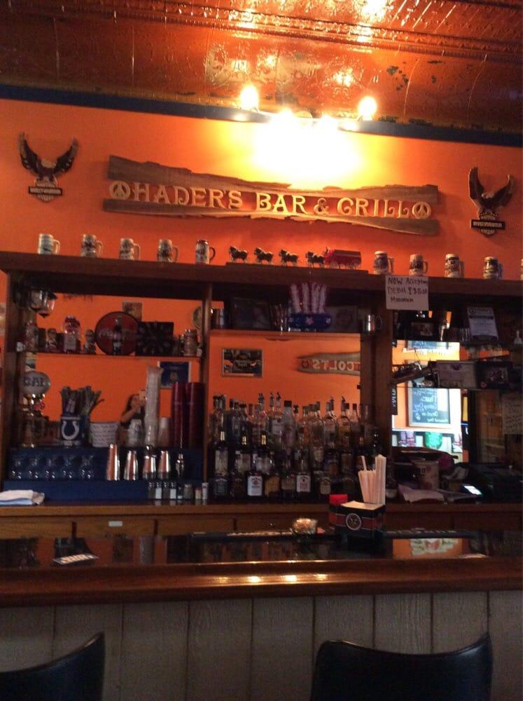 Hader's Bar & Grill: 9 E Washington St, Roachdale, IN
