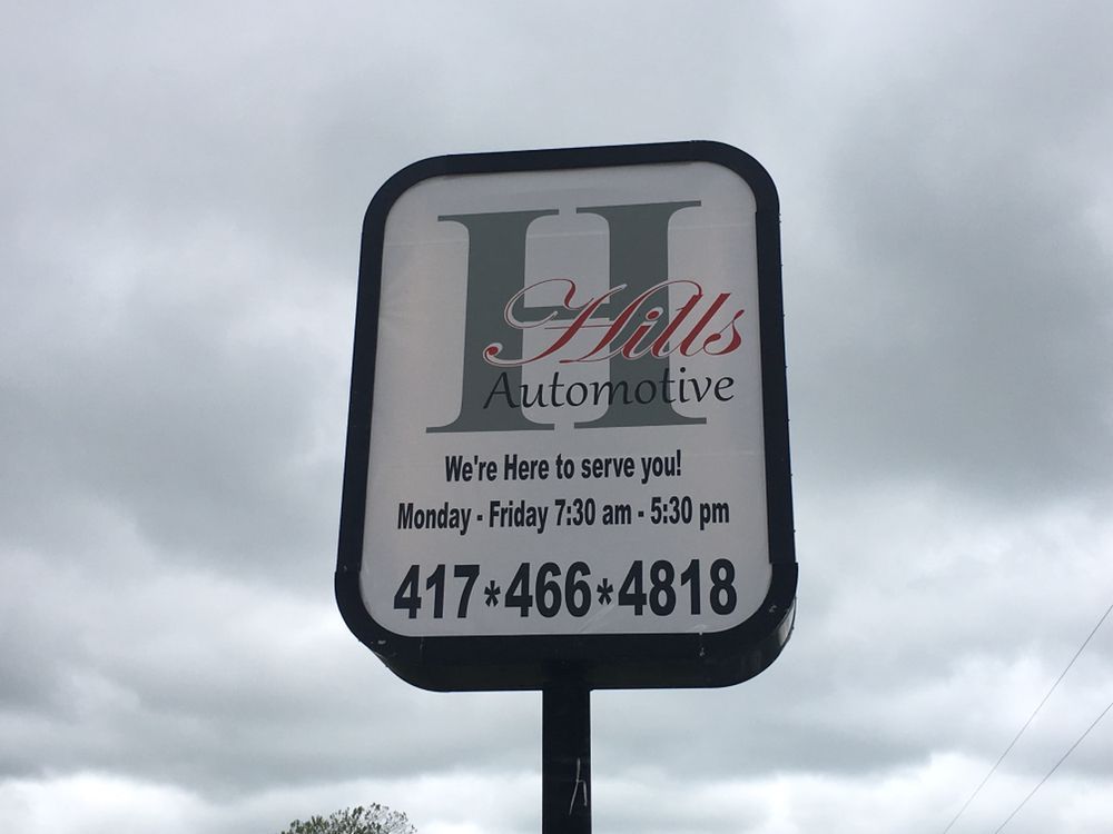 Hills Automotive: 12082 Bus Loop, Mount Vernon, MO