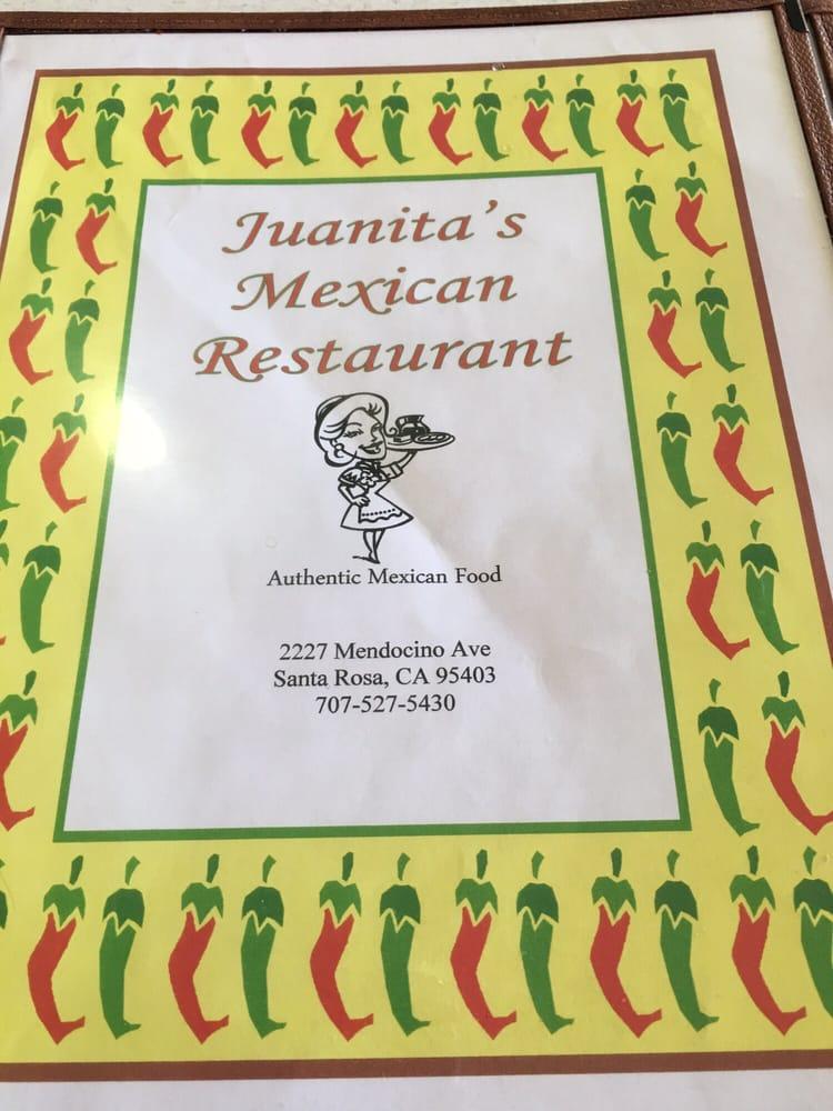 Juanita Mexican Restaurant Santa Rosa Ca