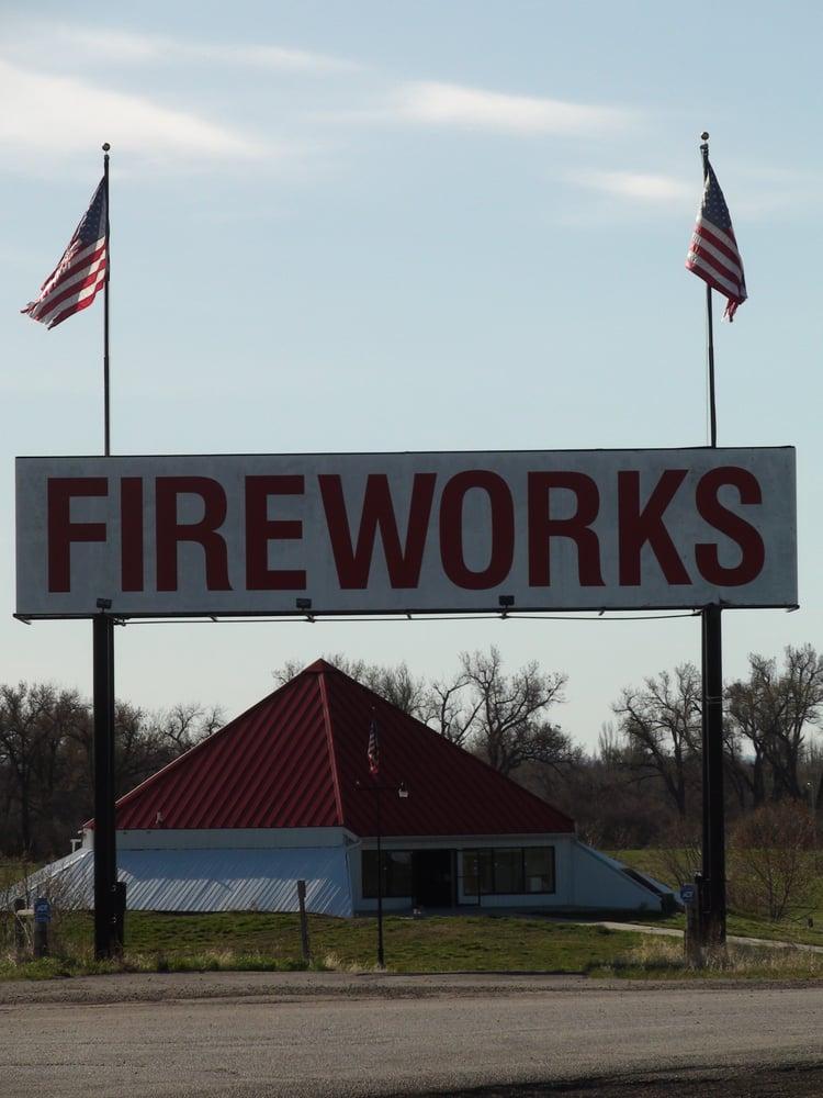 Baachachik Fireworks: Interstate 90 And Exit 497, Hardin, MT