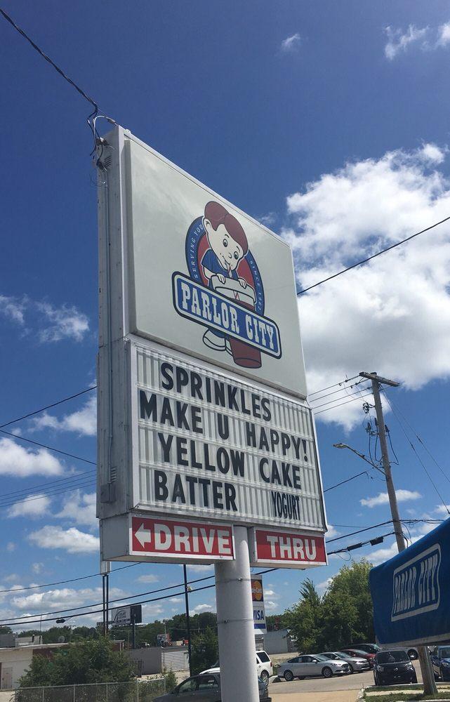 Parlor City Ice Cream: 1936 42nd St NE, Cedar Rapids, IA