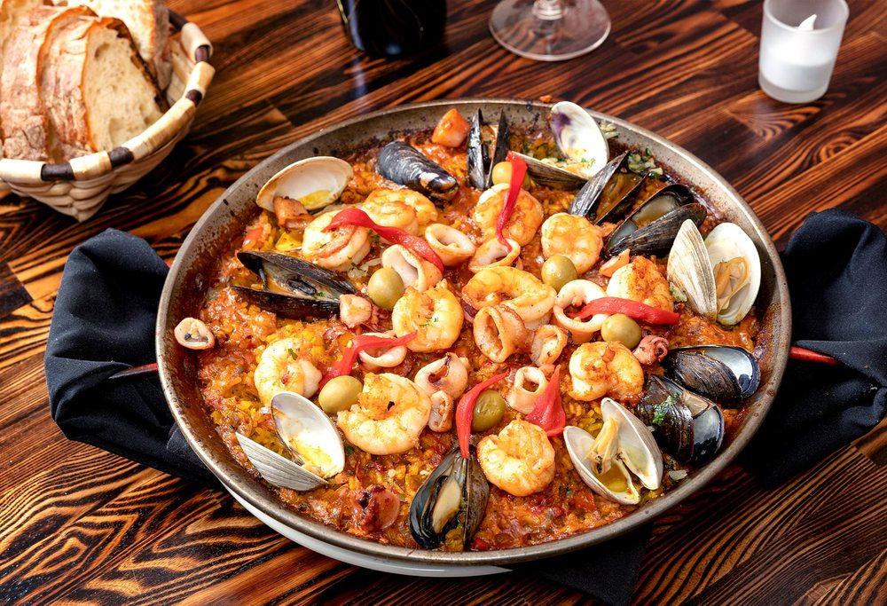 Food from Basque Tapas Bar
