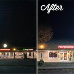 Photo of Oregon Commercial Lighting - Eugene OR United States. Oasis Plaza Before & Oregon Commercial Lighting - Lighting Fixtures u0026 Equipment - 2510 W ...
