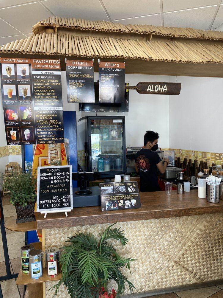 PAVARAGA Hawaiian Coffee & Tiki Bar: 2260 Otay Lakes Rd, Chula Vista, CA