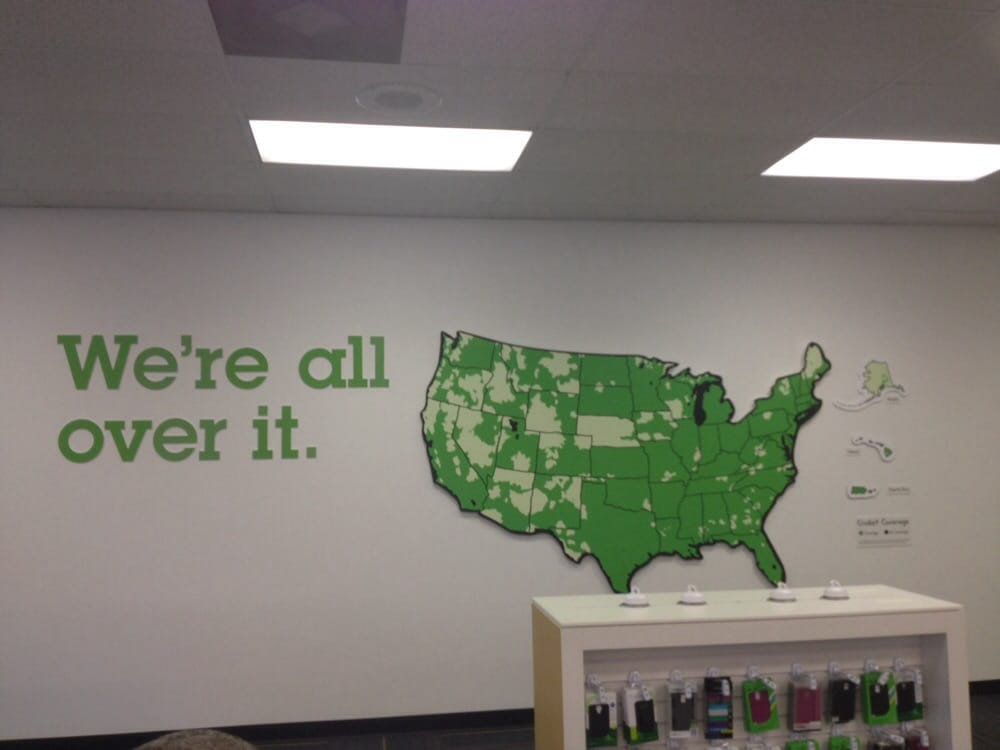 Photo Of Cricket Store Jacksonville Fl United States Coverage Map They
