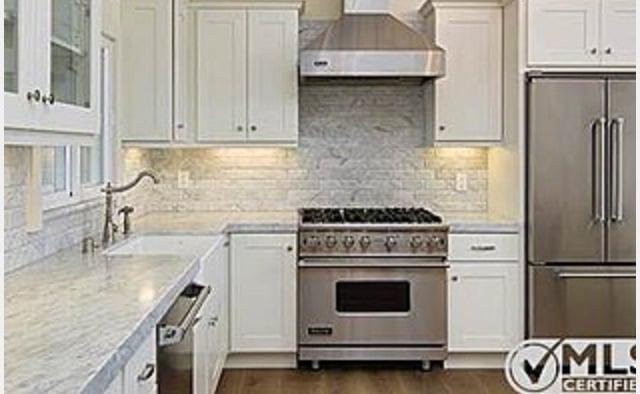 Photo Of Refined Tile Solutions San Go Ca United States Kitchen Backsplash
