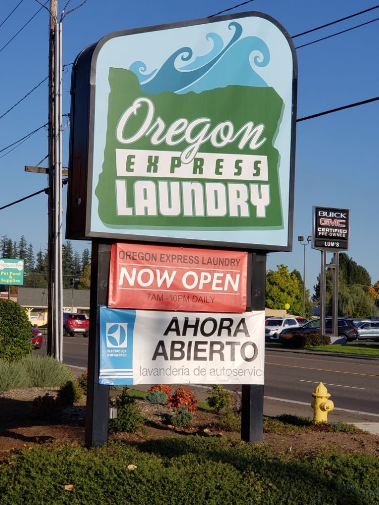 Oregon Express Laundry: 833 NE Hwy 99W, McMinnville, OR
