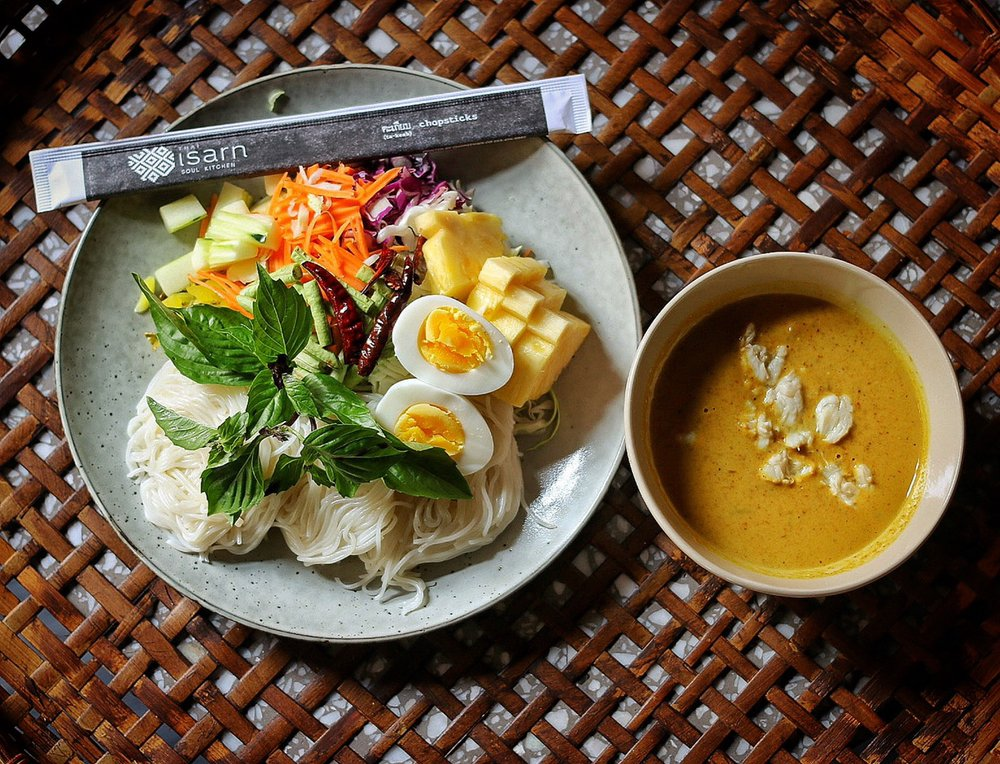 Food from Isarn Thai Soul Kitchen