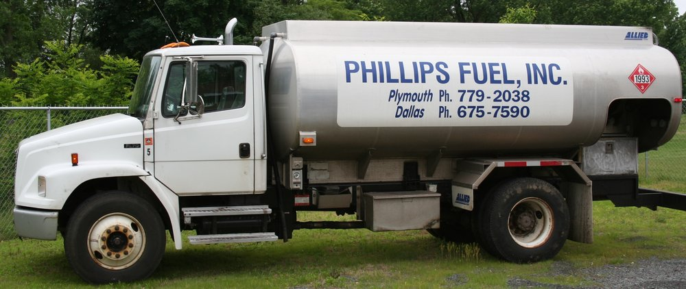 Phillips Fuel: 130 Downing St, Plymouth, PA