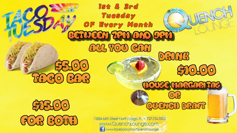 Quench Lounge: 13284 66th St N, Largo, FL