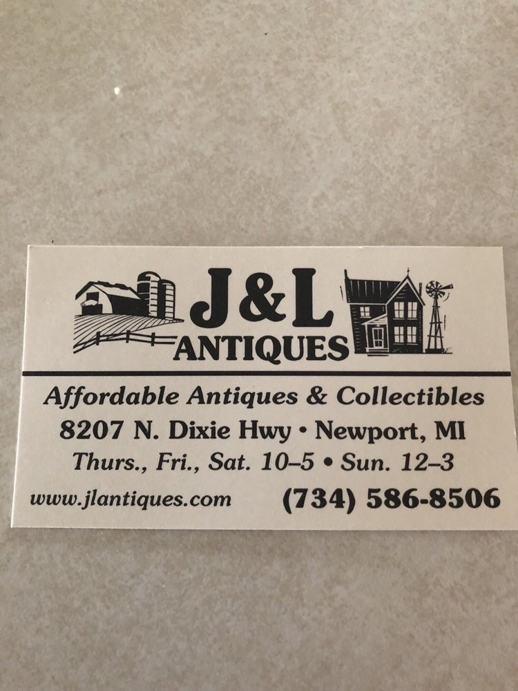 J&L Antiques: 8207 N Dixie Hwy, Newport, MI