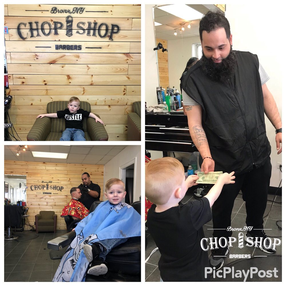 Chop Shop Barbers: 3106 E Tremont Ave, Bronx, NY