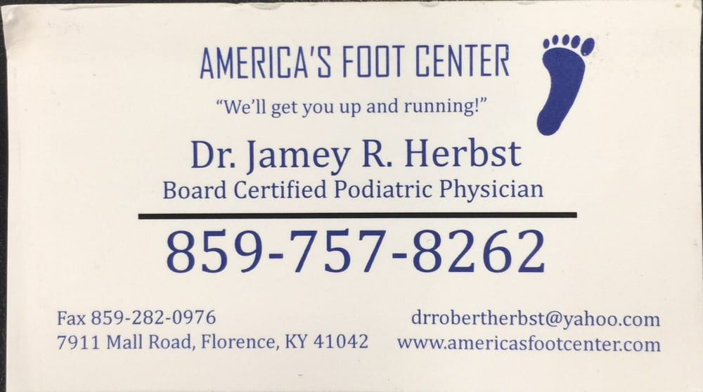 Americas Foot Center - Florence: 7911 Mall Rd, Florence, KY