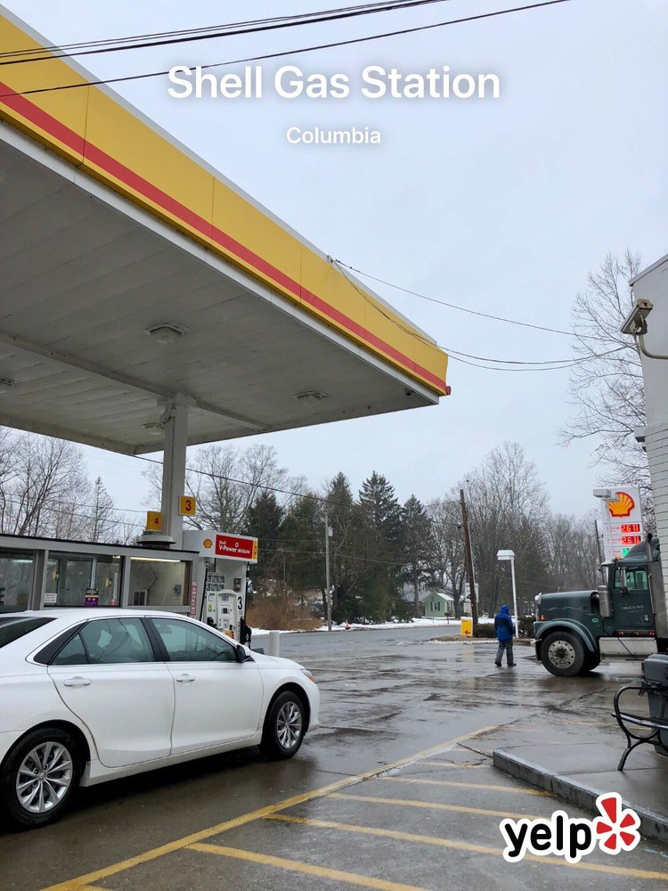 Shell Gas Station: 25 US 46 W Walnut Rd, Columbia, NJ