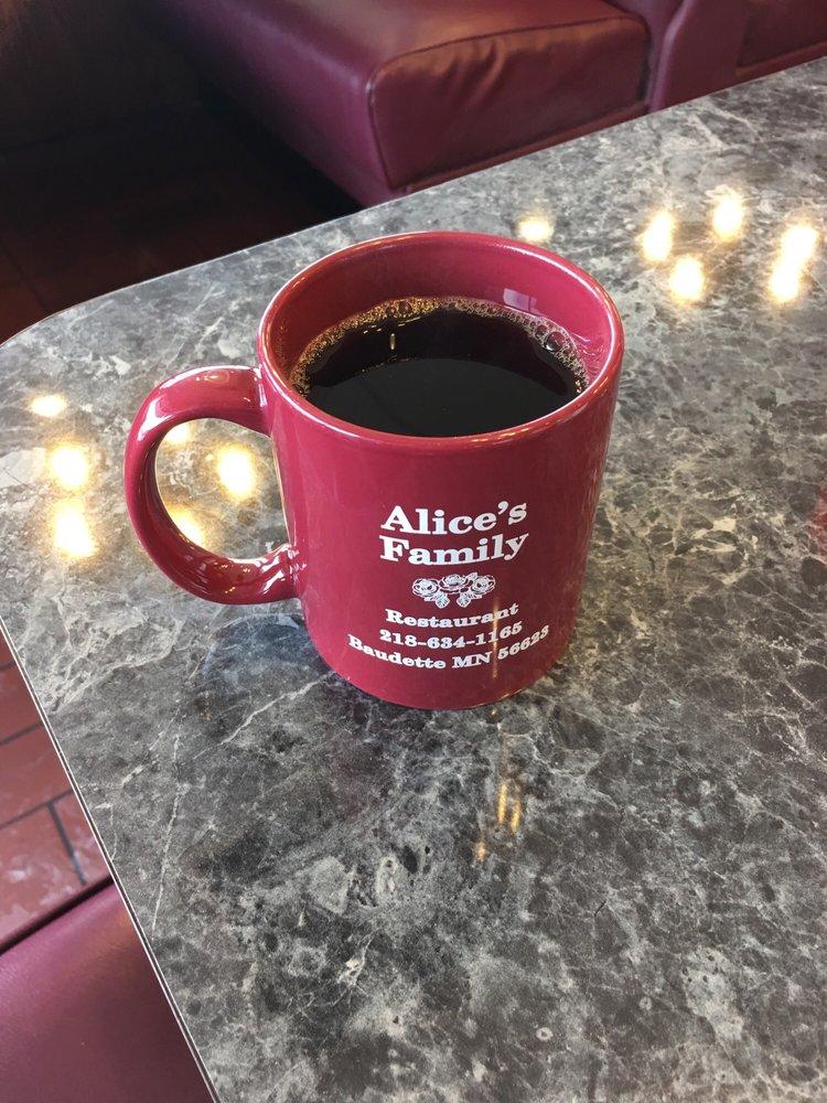 Alice's Family Restaurant: 203 W Main St, Baudette, MN