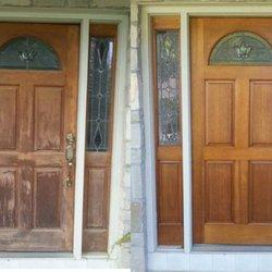Photo Of Dallas Door Refinishing   McKinney, TX, United States. Beforeu0026  After.