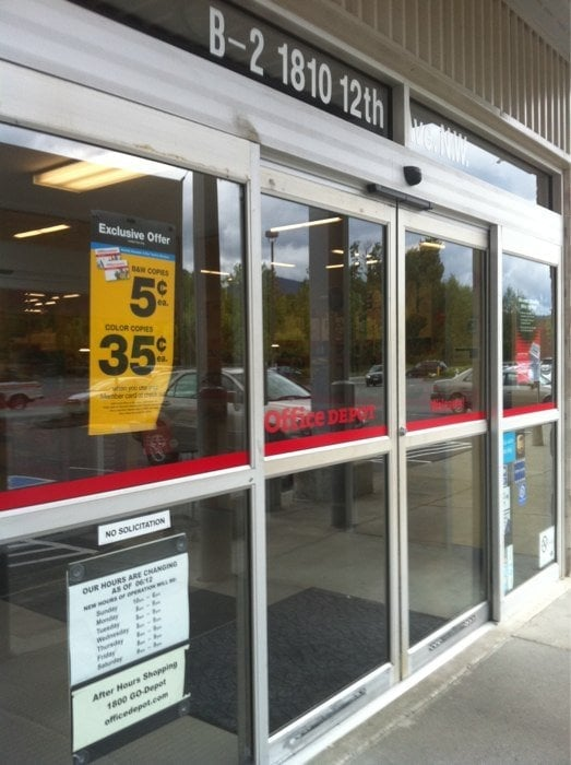Office Depot: 1810 12th Ave NW, Issaquah, WA