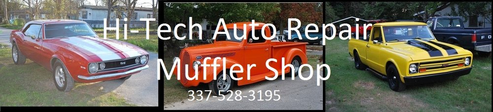 Hi Tech Auto Repair & Muffler Shop: 1516 Eva St, Sulphur, LA