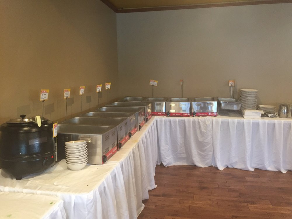 Pleasant New Lunch Buffet Setup Although I Wasnt There During Interior Design Ideas Tzicisoteloinfo