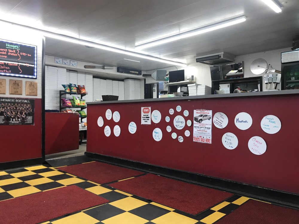 Hi-Way Pizza Shoppe: 915 Walton St, Philipsburg, PA