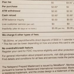 Netspend - 41 Reviews - Banks & Credit Unions - 901 Mariners