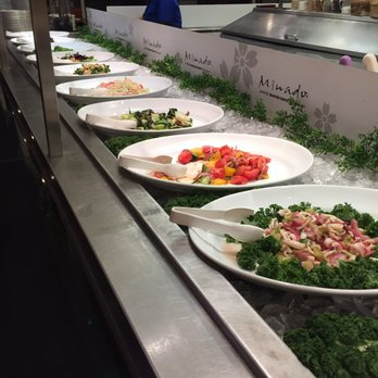 Photo Of Minado Restaurant Little Ferry Nj United States Salad Bar