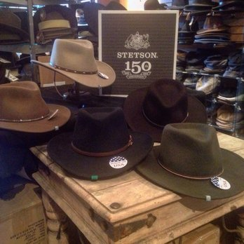 8cf8254f Tri City hat from Stetson - Yelp