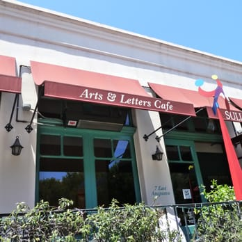 Arts And Letters Cafe Santa Barbara Ca