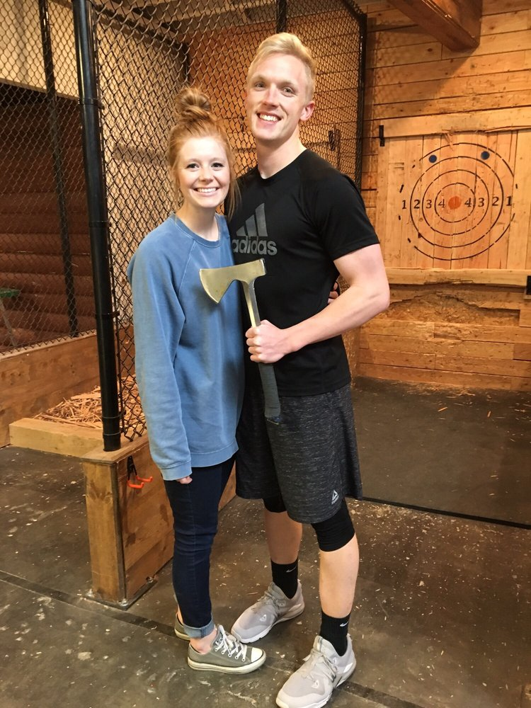 Social Spots from Heber Hatchets Axe Throwing - Provo