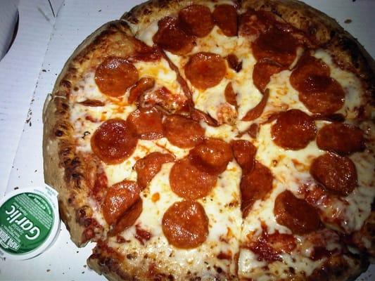 Quot Pepperoni Pizza Quot Papa John S 7 11 13 Yelp