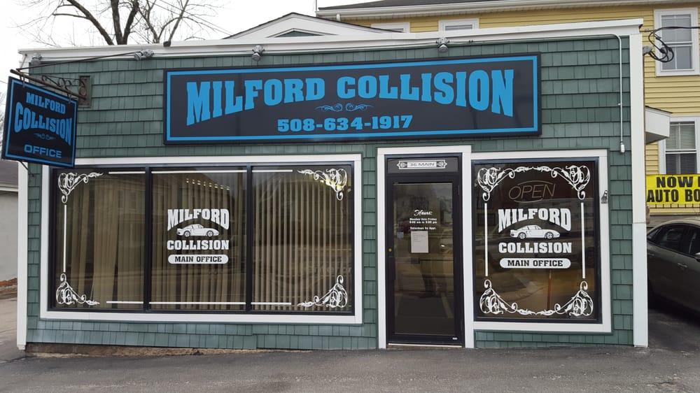 Milford Auto Body & Collision Repair Inc: 36 Main St, Milford, MA