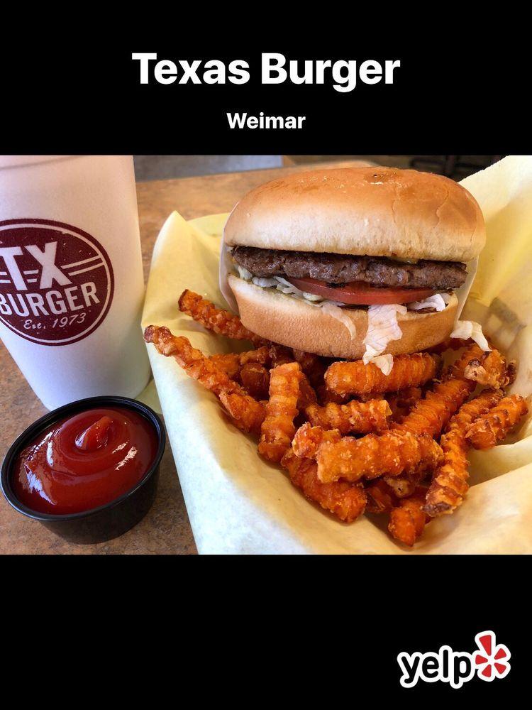 Texas Burger: 1547 Interstate 10, Weimar, TX