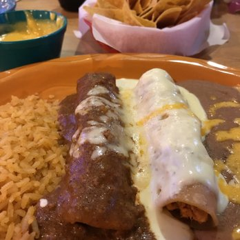 Photo Of Angelina S Mexican Restaurant Denton Tx United States Beef And En