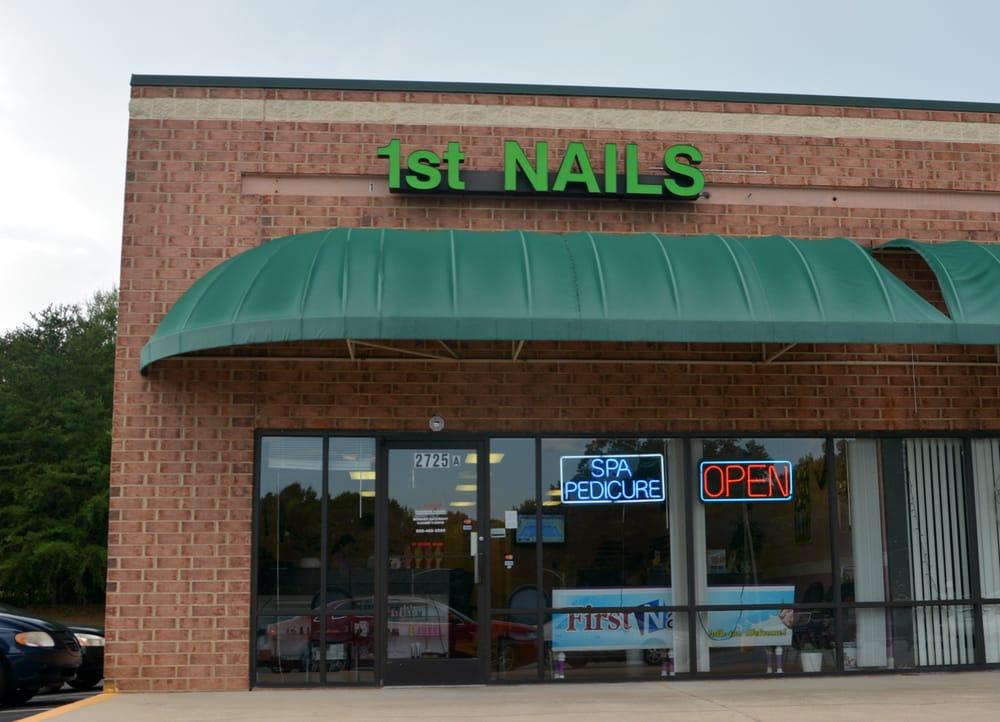 First Nails: 2725 Northwest Blvd, Newton, NC