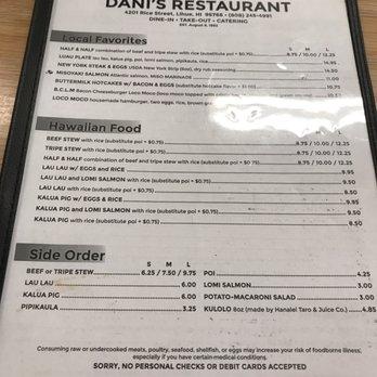 Danis Restaurant 179 Photos 185 Reviews Japanese 4201 Rice