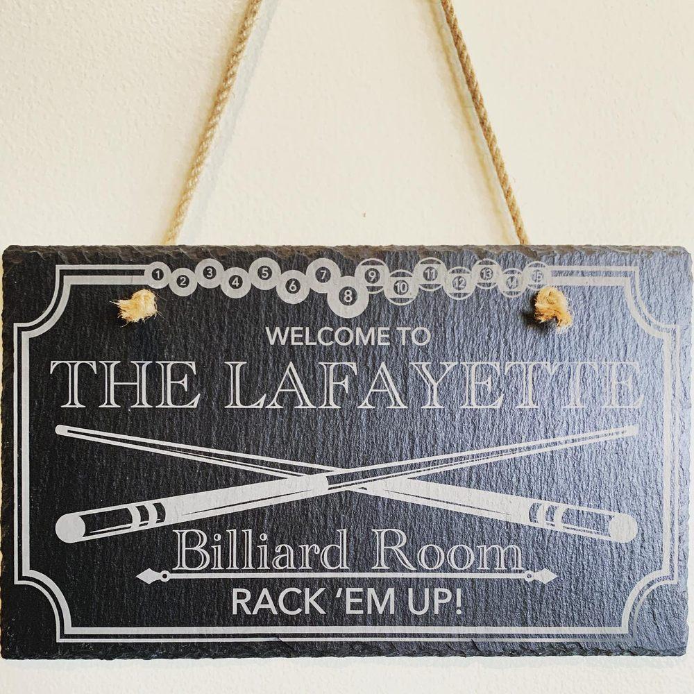 The Lafayette Barroom & Social Club: 238 S Lafayette St, Shelby, NC