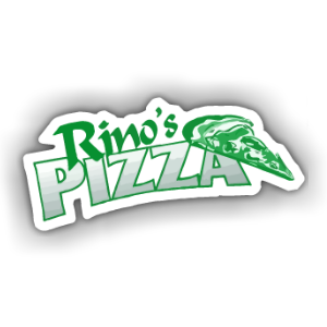 Food from Rino's Pizza