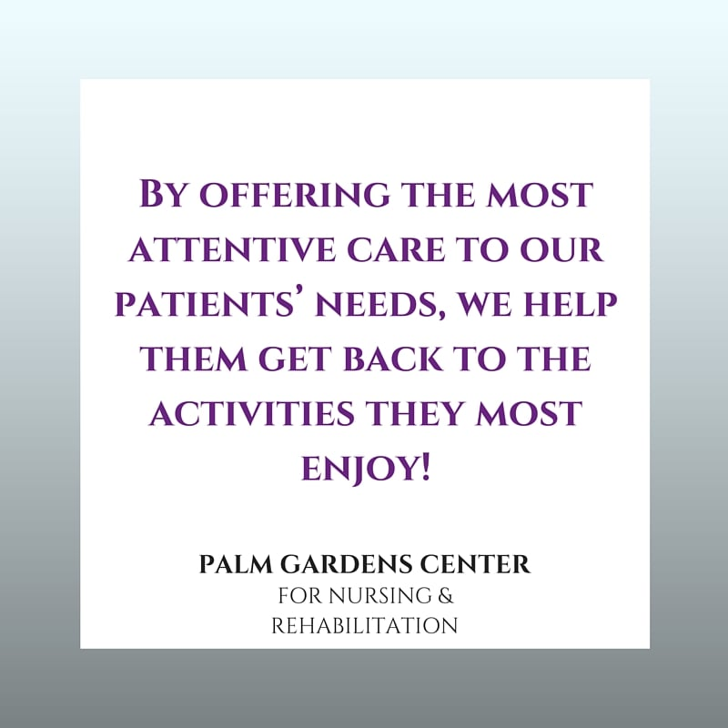 Palm Gardens Nursing Rehabilitation Rehabilitation Center 615 Avenue C Kensington