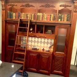 Photo Of Closet Factory   Ashland, VA, United States. Bookcase With Accent  Trims