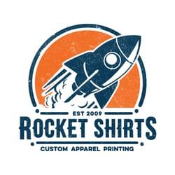 Rocket shirts closed 13 photos screen printing t for T shirt screen printing san diego