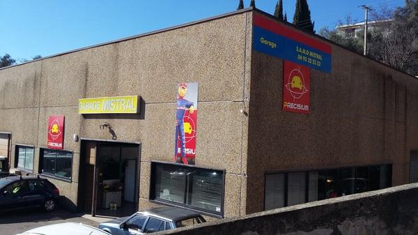 Garage mistral riparazioni auto 711 route de grasse for Piani di garage rv staccati