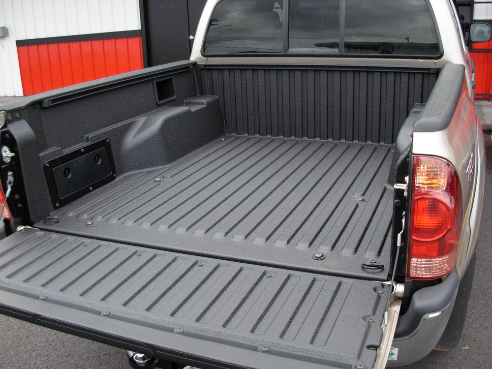Linex Bed Liner >> 2015 Tacoma Composite Bed Line X Spray On Bedliner Yelp
