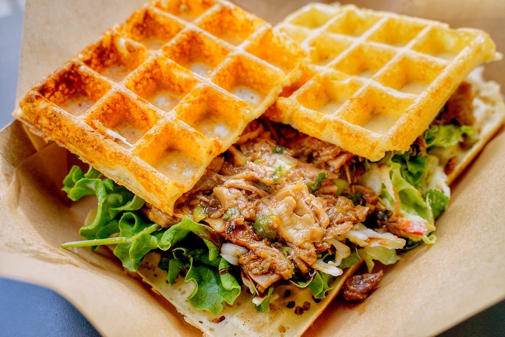 Food from Wicked Waffle