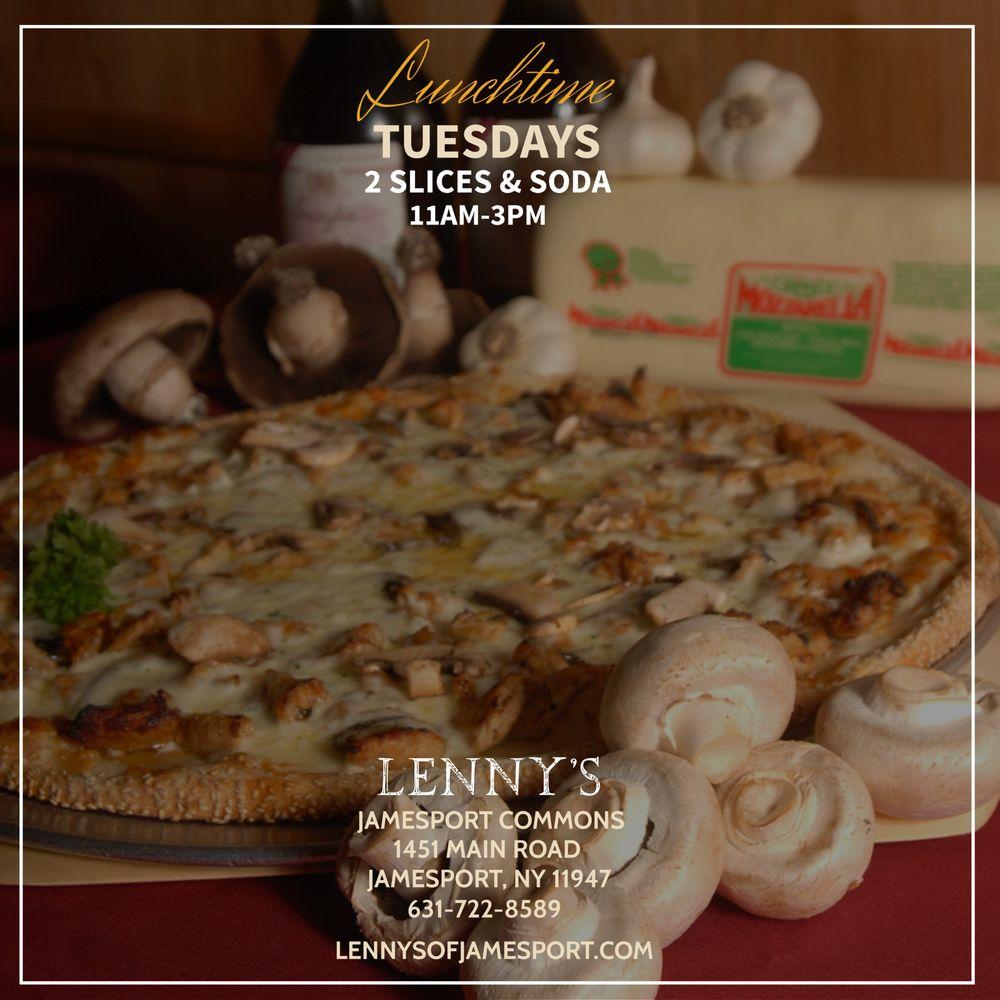 Lenny's Pizza & Restaurant: 1451 Main Rd, Jamesport, NY