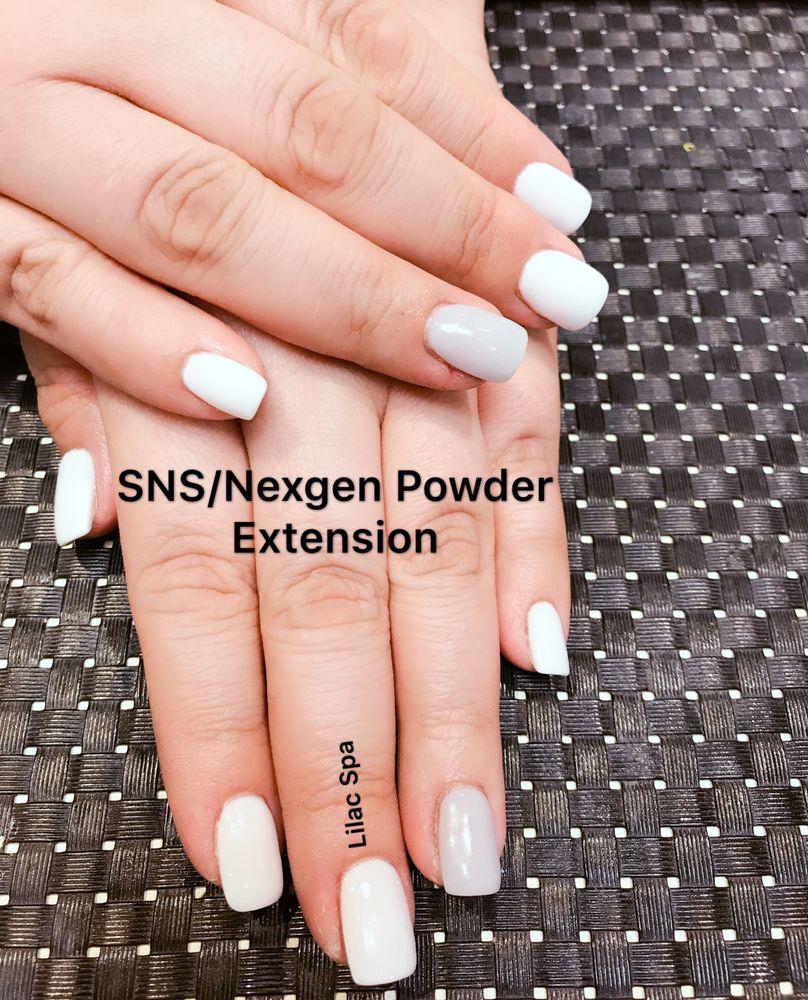Deep powder gel extension makes nails beautiful. - Yelp