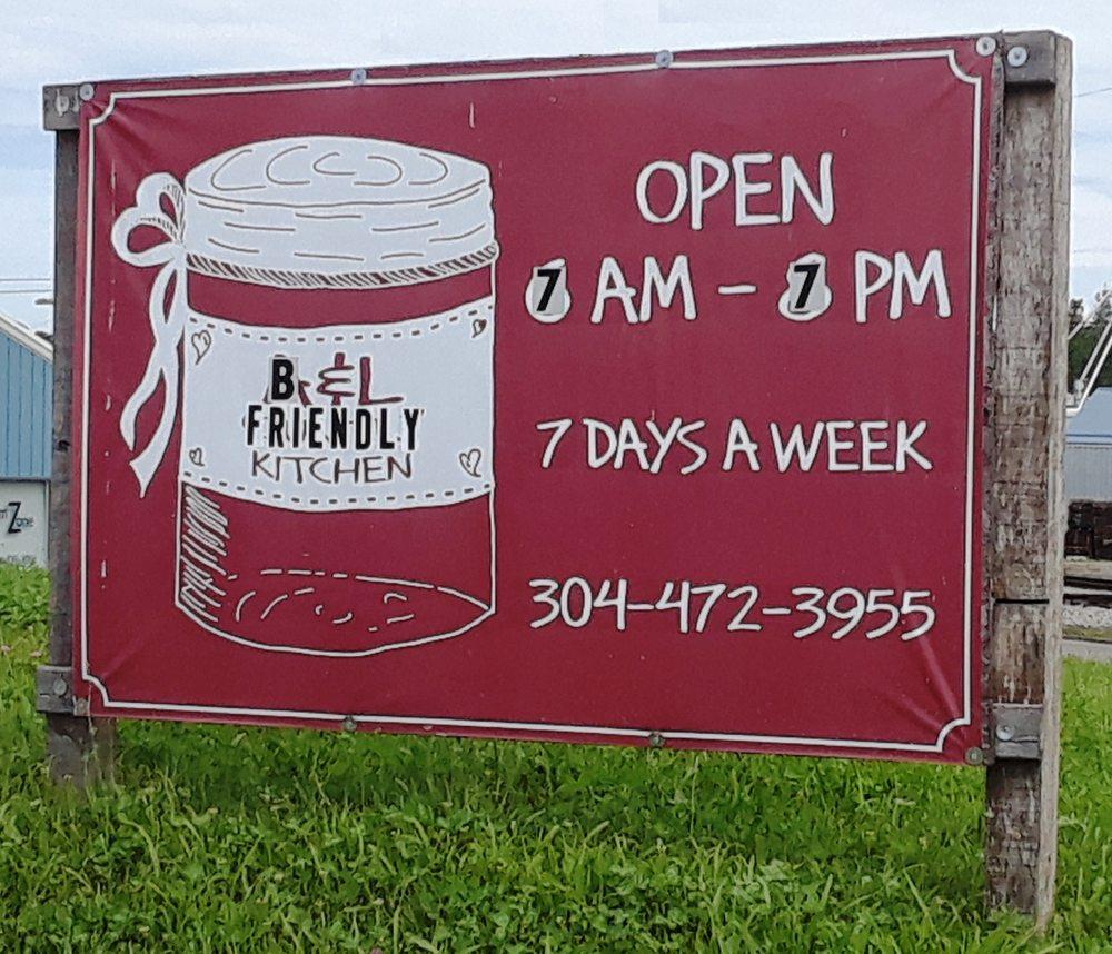 B & L Friendly Kitchen: 25 N Kanawha St, Buckhannon, WV