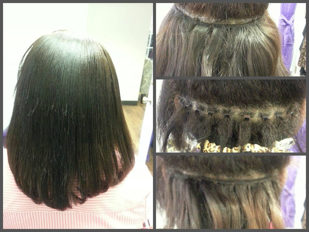 Partial Micro Link Sew In Silicon Coated Bead Which Allows