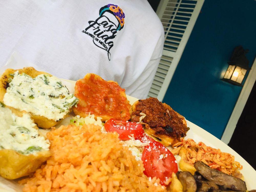 Food from Casa Frida