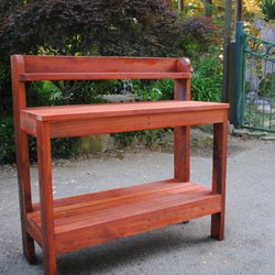 Photo Of The Redwood Patio   Aptos, CA, United States. Redwood Potting Bench