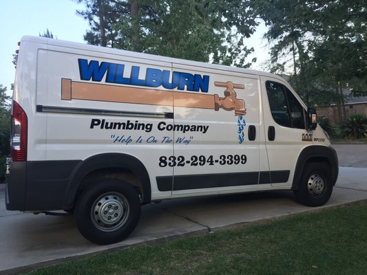 Willburn plumbing encanadores houston tx estados for Plumber 77080